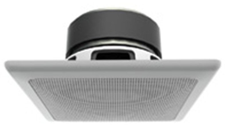 "3"" Full-Range Raw-Frame Ceiling Speaker in White"