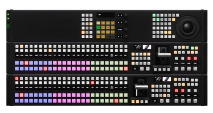 HD/SD Multi-format Production Switcher with Advanced New Control Panel