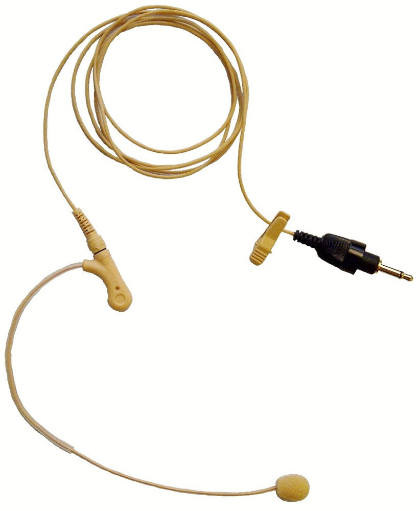 Low Profile Headset Microphone for the 5000 Series Wireless Systems