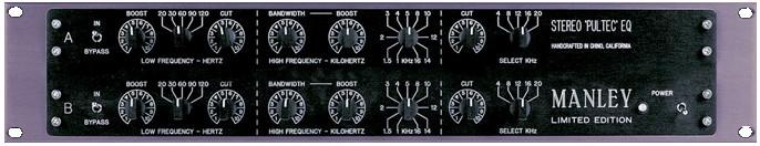 Stereo Enhanced Pultec EQP-1A EQ