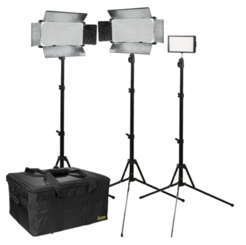 Large Interview Light Kit
