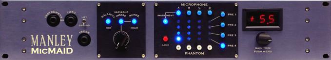 Microphone/ Microphone Preamp Matrix-Switcher