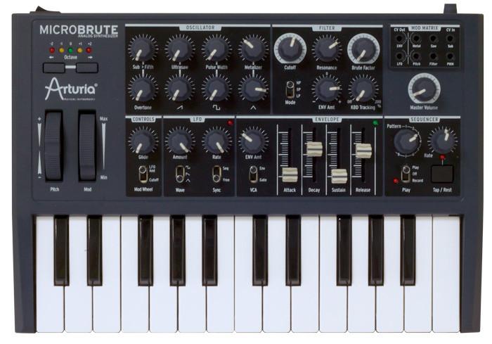 25-Key Analog Synthesizer