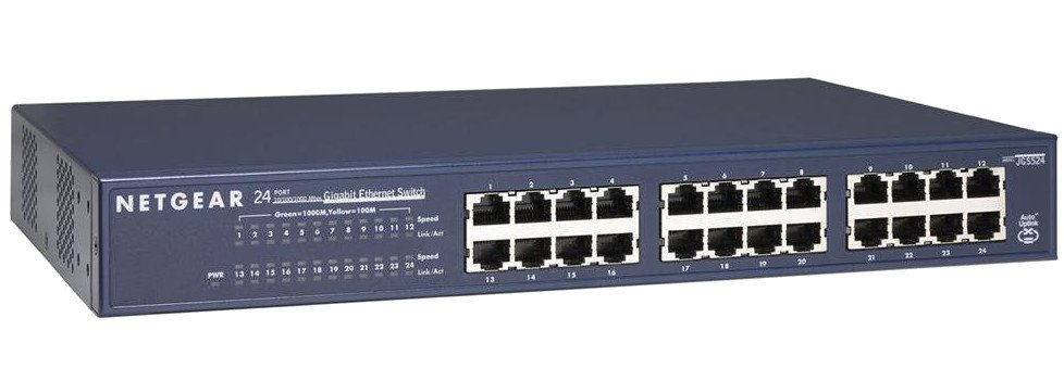 24-Port 10/100 Rackmount Switch
