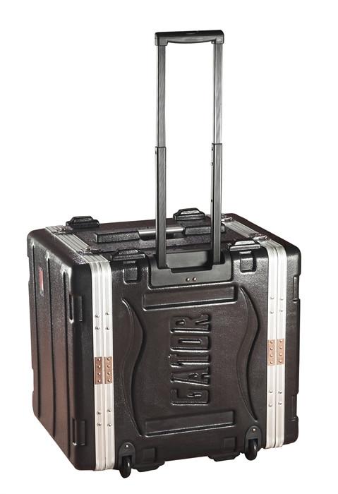 10-RU Powered Lockable Rack Case with Wheels