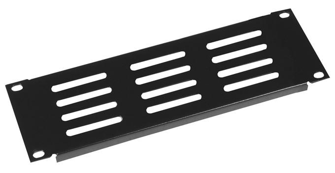2RU Half Rack Standard Width Vented Panel