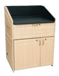 "Middle Atlantic Products L5-FLATFR-23  23"" 10-Space L5 Lectern Frame L5-FLATFR-23"