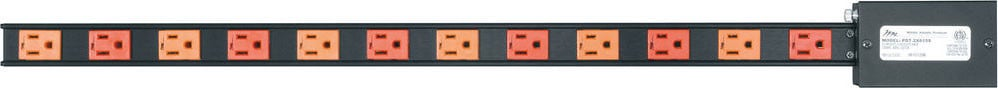 12-Outlet 2x15A Power Strip