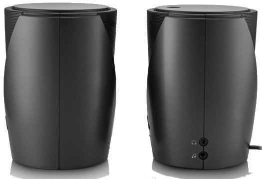 1 Pair of Wireless Bluetooth-Compatible Computer/Mobile Device Speakers