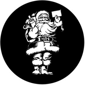 Old Time Santa Gobo