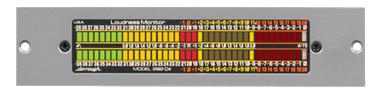 2-Ch AES/EBU Horizontal Meter