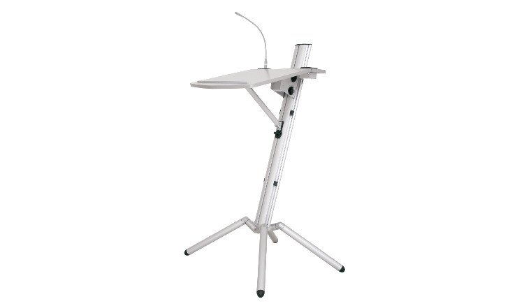 Ovation Pro Lectern in Silver