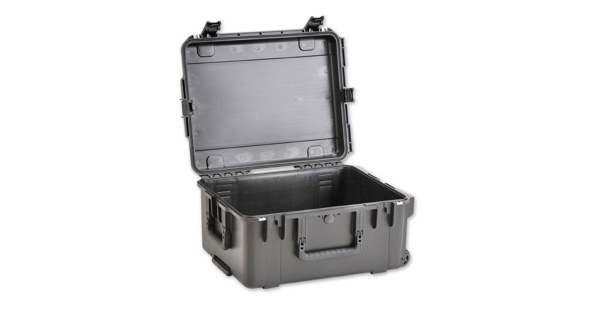 "22""x17""x12""  iSeries Waterproof Utility Case with Wheels & Cubed Foam"
