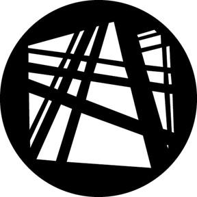 Construction B Steel Gobo