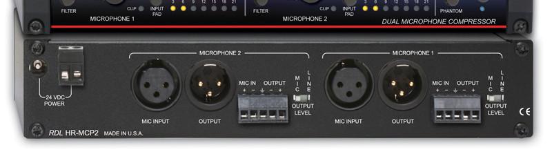 Dual Microphone Compressor