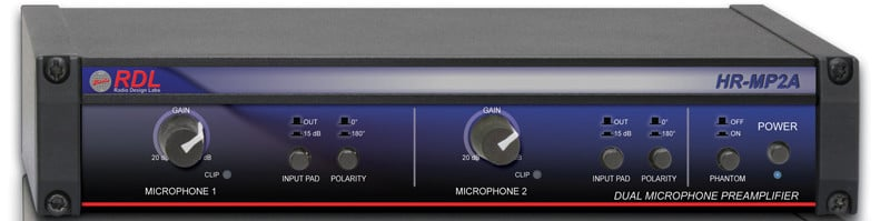 Dual Microphone Preamplifier