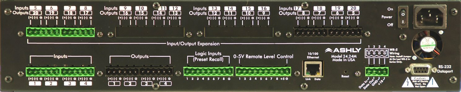 4x12 Networkable Matrix Processor