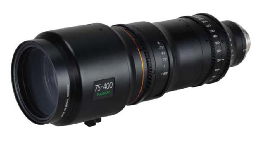 75-400mm T2.8-3.8 Premier PL 4K+ Cine Zoom Lens