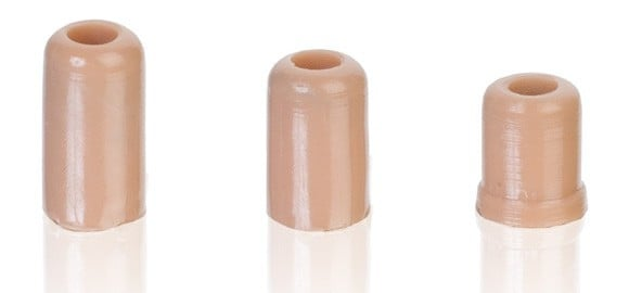 Protective Cap for H6 Headset Microphone in Light Beige