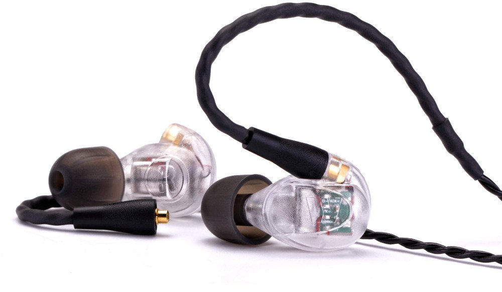 High-Performance Triple Driver Earphone Monitors with Removable Cable