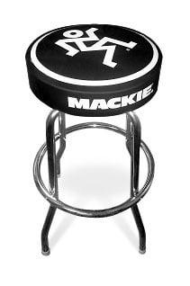 "Mackie STUDIO-STOOL 30""H Studio Stool Mackie Logo STUDIO-STOOL"