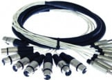 8-Ch 3ft RCA Male to XLR Male Cable