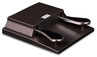 Double Sustain/Switch Keyboard Pedal