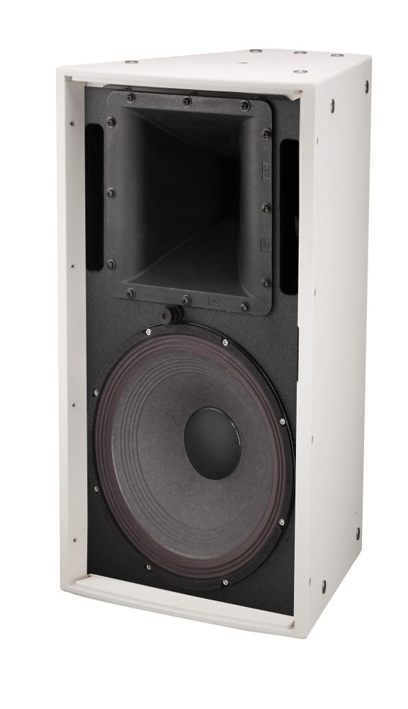 "Two-Way 12"" Full-Range Loudspeaker, 500W @ 8ohms, 60X60 Degree Dispersion - White"