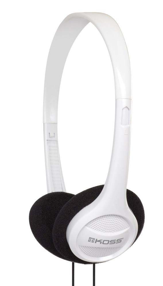 Portable On-Ear Headphones in White