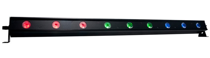 9x3W Tri-Color LED Bar
