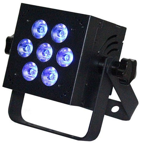 RGBW + UV 5-in-1 LED Fixture