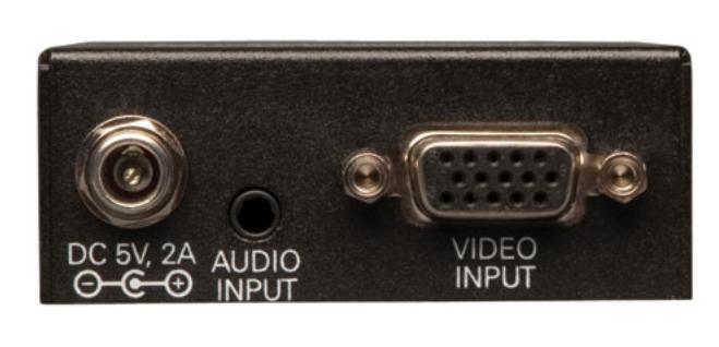 VGA + Audio over Cat5 Extender 2-Port Transmitter