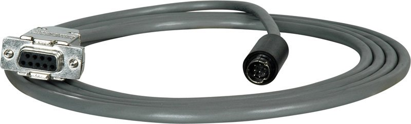 80 ft VISCA 9-Pin D-Sub Female to 8-Pin DIN Male Camera Control Cable for Sony EVI-HD1
