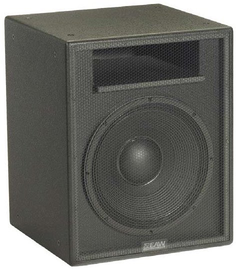 """EAW-Eastern Acoustic Wrks SB150zp 15"""" Subwoofer with Hanging Points in Black SB150ZP-BLACK"""