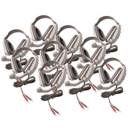 10-Pack of DS8V Discovery Headsets without Case