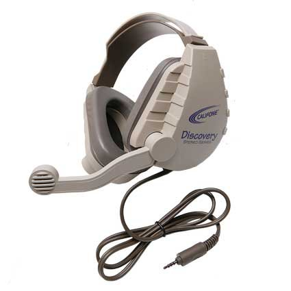 Califone International DS-8VT Discovery Headset for Tablets and Smartphones DS-8VT