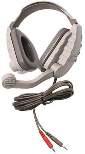 "Discovery Headset with 1/8"" Mono Headphone Plug and 1/8"" Stereo Microphone Plug"