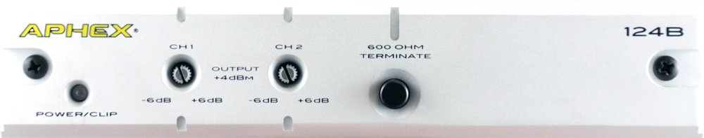 2 Channel Audio Level Interface