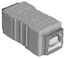 Female to Female USB Type B Passive Adapter