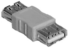 Female to Female USB Type A Passive Adapter