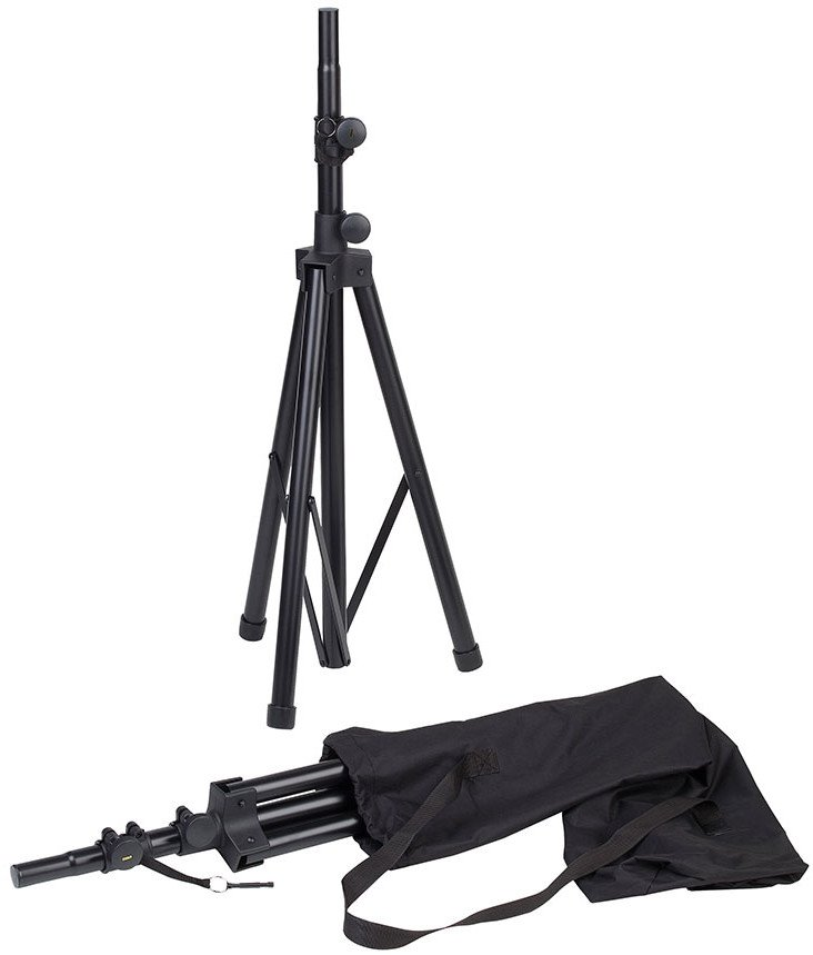 1 Pair of Tripod Speaker Stands and Brackets with Carry Bag