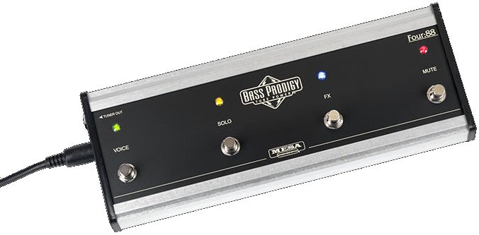 4-Button Footswitch for Bass Prodigy Amplifier