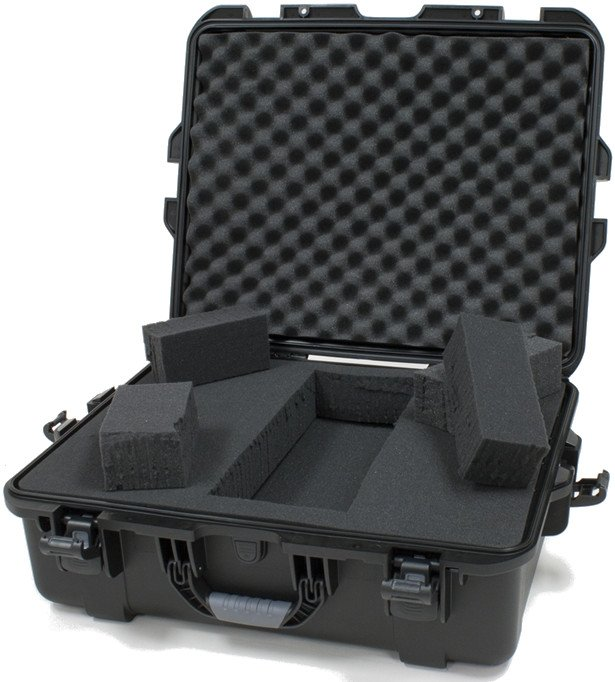 Waterproof Case with Diced Foam