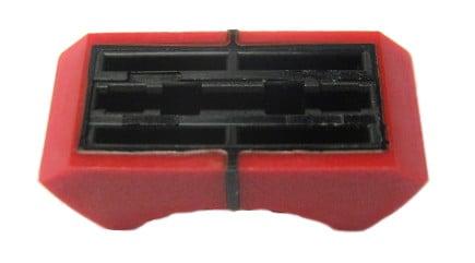 Soundcraft KA0231-02  Red Fader Knob For Spirit 8 KA0231-02