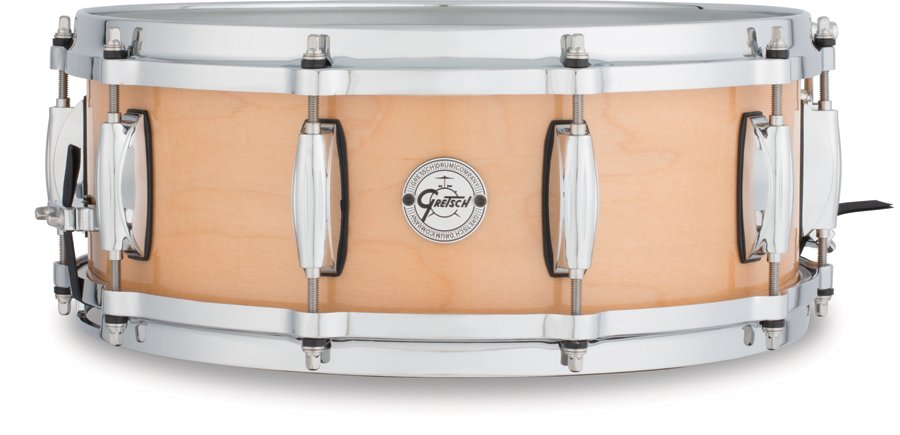 """5""""x14"""" 10 Lug 10 Ply Maple Snare Drum"""