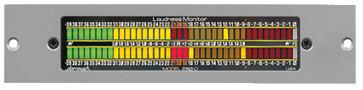 AES/EBU Reading Stereo Digital Loudness Meter
