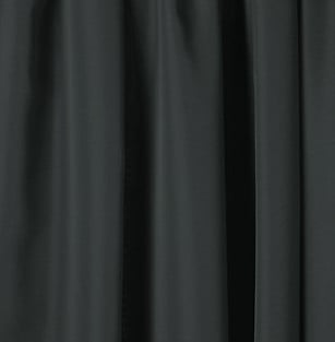 "54"" x 16 ft Velon Show Drapery in Black"