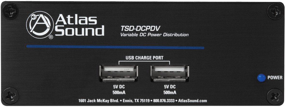1 In 6 Out DC Power Distribution with Fixed and Variable 5-24VDC Outputs