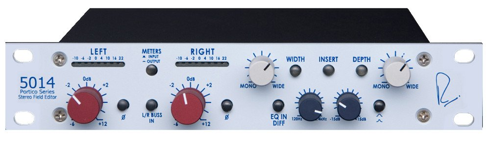 Stereo Field Editor with a Horizontal Mount