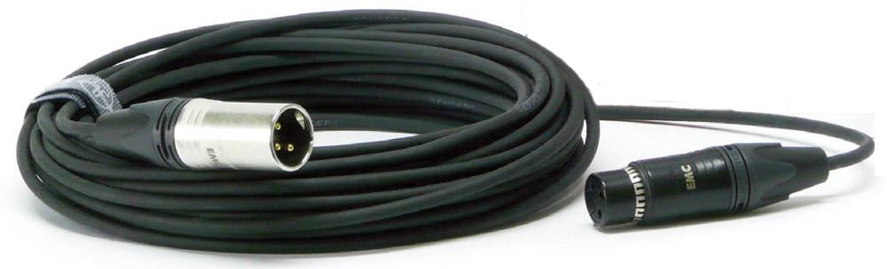 HQ XLRM-XLRF 3-Pin Microphone Cable